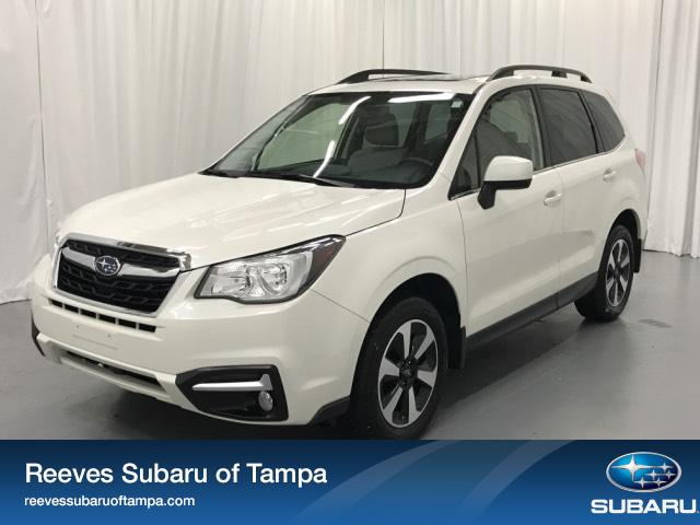 Certified Pre-Owned 2017 Subaru Forester 2.5i Limited CVT