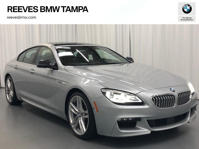 Pre-Owned 2016 BMW 6 Series 4dr Sdn 650i RWD Gran Coupe