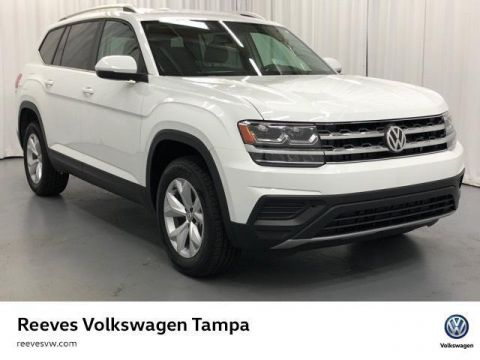 New 2019 Volkswagen Atlas 3.6L V6 SE w/Technology FWD