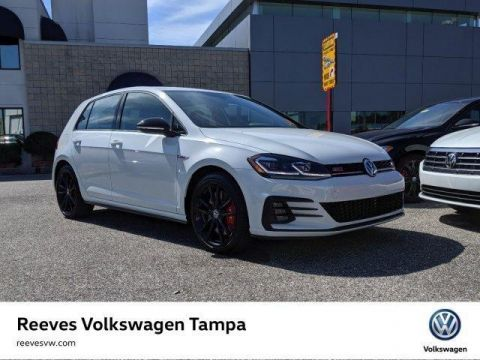 Certified Pre-Owned 2019 Volkswagen Golf GTI Rabbit Edition