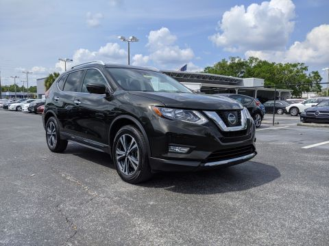 Pre-Owned 2017 Nissan Rogue 2017.5 FWD SL FWD Sport Utility