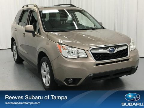 Certified Pre-Owned 2016 Subaru Forester 4dr CVT 2.5i Limited PZEV