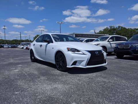 Pre-Owned 2015 Lexus IS 250 4dr Sport Sdn Crafted Line RWD With Navigation