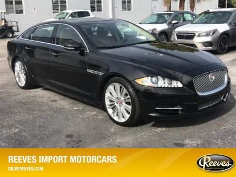 Pre-Owned 2014 Jaguar XJ 4dr Sdn XJL Supercharged RWD