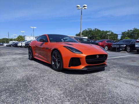2017 Jaguar F-TYPE Coupe Auto SVR AWD
