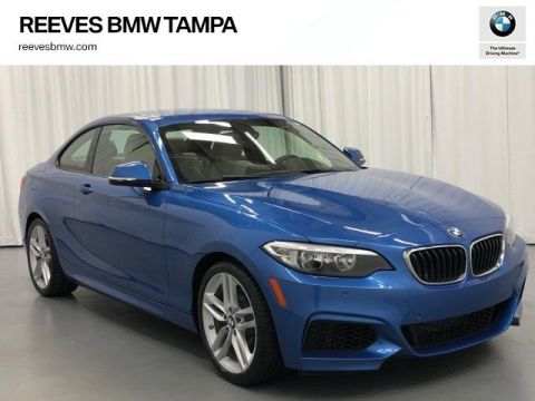 Pre-Owned 2016 BMW 2 Series 2dr Cpe 228i RWD SULEV