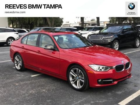 Certified Pre-Owned 2015 BMW 3 Series 4dr Sdn 328i RWD