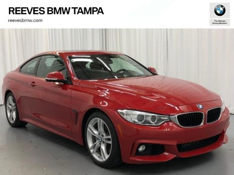 Pre-Owned 2016 BMW 4 Series 2dr Cpe 428i RWD SULEV