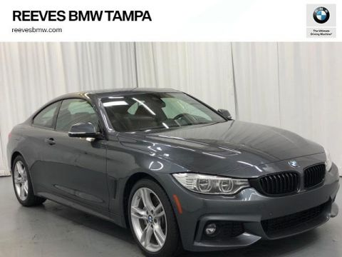 Pre-Owned 2017 BMW 4 Series 430i Coupe SULEV