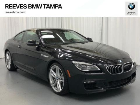 Pre-Owned 2016 BMW 6 Series 2dr Cpe 640i RWD
