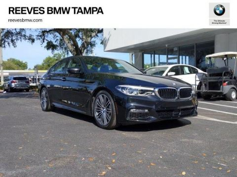 Pre-Owned 2017 BMW 5 Series 540i Sedan RWD 4dr Car