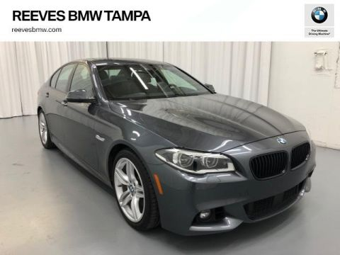 Pre-Owned 2016 BMW 5 Series 4dr Sdn 550i RWD