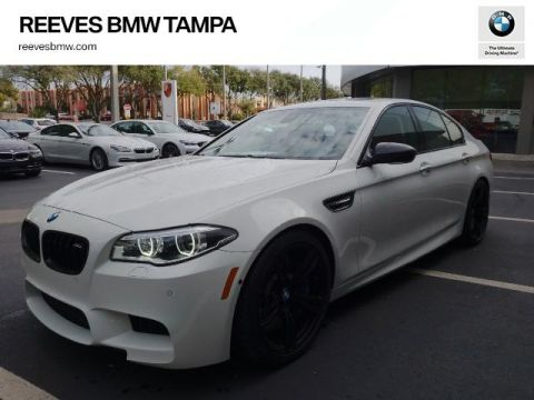 Pre-Owned 2015 BMW M5 4dr Sdn
