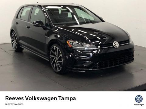 New 2018 Volkswagen Golf R 4-Door Manual w/DCC/Nav